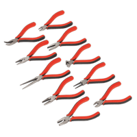 Sealey AK8578 Mini Pliers Set 10pc