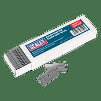 Sealey AK867B100 Razor Scraper Blade Pack of 100