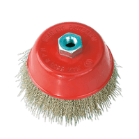 Sealey CBC125 Brassed Steel Cup Brush ??125mm M14 x 2mm