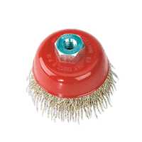 Sealey CBC75 Brassed Steel Cup Brush ??75mm M10 x 1.5mm