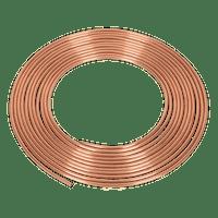 "Sealey CBP001 Brake Pipe Copper Tubing 20 Gauge 3/16"" x 25ft"