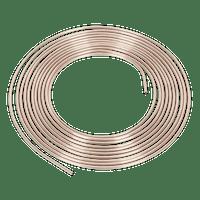 """Sealey CNP316 Brake Pipe Seamless Tube Cupro-Nickel 22 Gauge 3/16"""" x 25ft BS EN 12449 CW024A"""