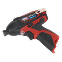 """Sealey CP1203   Cordless Impact Driver 1/4""""Hex Drive 80Nm 12V Li-ion- Body Only"""
