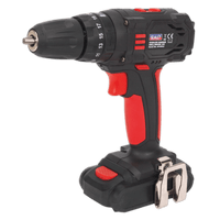 Sealey CP18VLD   Cordless Hammer Drill/Driver 10mm 18V 1.5Ah Lithium-ion 2-Speed - Fast Charger