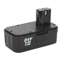 Sealey CP2400MHBP   Power Tool Battery 24V 2Ah Ni-MH for CP2400MH