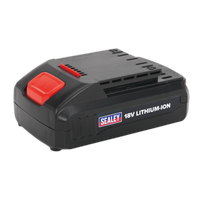 Sealey CP2518LBP   Power Tool Battery 18V 1.3Ah Lithium-ion for CP2518L