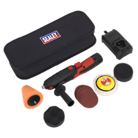 Sealey CP2812V   Cordless Mini Sander/Polisher Kit ??75mm 12V Lithium-ion