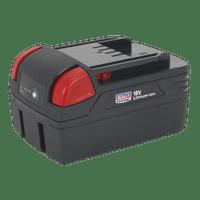 Sealey CP3005BP4   Power Tool Battery 18V 4Ah Li-ion for CP3005