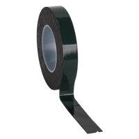 Sealey DSTG2510 Double-Sided Adhesive Foam Tape 25mm x 10m Green Backing