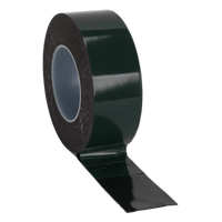Sealey DSTG5010 Double-Sided Adhesive Foam Tape 50mm x 10m Green Backing