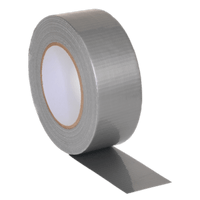 Sealey DTS Duct Tape 48mm x 50m Silver