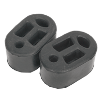 Sealey EX01 Exhaust Mounting Rubbers L70 x D45 x H37 (Pack of 2)