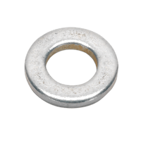 Sealey FWA612 Flat Washer M6 x 12mm Form A Zinc DIN 125 Pack of 100