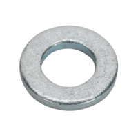 Sealey FWC512 Flat Washer M5 x 12.5mm Form C BS 4320 Pack of 100