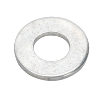 "Sealey FWI101 Flat Washer 3/8"" x 3/4"" Table 3 Imperial Zinc BS 3410 Pack of 100"