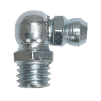 """Sealey GNI14 Grease Nipple 90?ø 1/4""""UNF Pack of 25"""