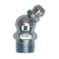 Sealey GNM10 Grease Nipple 45?ø 10 x 1mm Pack of 25