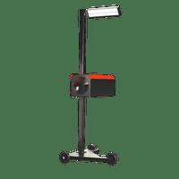 Sealey HBS2001 Workshop Headlamp Beam Setter with 3 Wheels