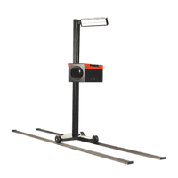 Sealey HBS97 Headlamp Beam Setter with Rails - MOT Approved