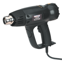 Sealey HS104K   Deluxe Hot Air Gun Kit with LED Display 2000W 80-600?øC