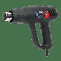 Sealey HS107K   Variable Temperature Hot Air Gun Kit 2000W 50-450?øC/90-600?øC