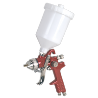 Sealey HVLP741 HVLP Gravity Feed Spray Gun 1.3mm Set-Up