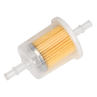 Sealey ILFL5 In-Line Fuel Filter Large Pack of 5