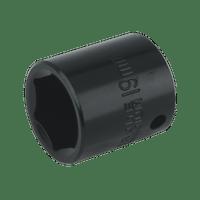"Sealey IS3819 Impact Socket 19mm 3/8""Sq Drive"
