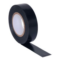 Sealey ITBLK10 PVC Insulating Tape 19mm x 20m Black Pack of 10