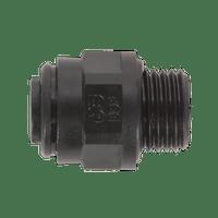 "Sealey JGC1014 Straight Adaptor 10mm x 1/4""BSP Pack of 5 (John Guest Speedfit?? - PM011012E)"