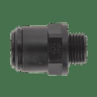 "Sealey JGC614 Straight Adaptor 6mm x 1/4""BSP Pack of 5 (John Guest Speedfit?? - PM010612E)"