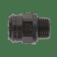 "Sealey JGC814 Straight Adaptor 8mm x 1/4""BSP Pack of 5 (John Guest Speedfit?? - PM010812E)"