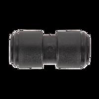 Sealey JGCS10 Straight Coupling 10mm Pack of 5 (John Guest Speedfit?? - PM0410E)