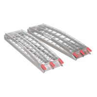 Sealey LR680 Aluminium Loading Ramps 680kg Capacity per Pair