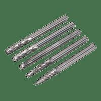 Sealey MCBSET01 Micro Carbide Burr Set 5pc