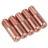 Sealey MIG951 Contact Tip 0.6mm MB14 Pack of 5