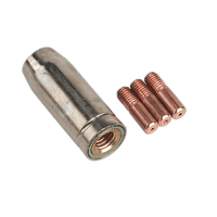 Sealey MIG954 Conical Nozzle x 1 Contact Tip 0.8mm x 3 MB14