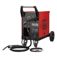Sealey MIGHTYMIG190 Professional Gas/No-Gas MIG Welder 190Amp with Euro Torch