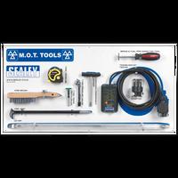 Sealey MOTBKIT MOT Tool Board with Tools