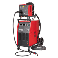 Sealey POWERMIG6025S Professional MIG Welder 250Amp 415V 3ph with Binzel Euro Torch & Portable Wire Drive