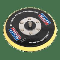 "Sealey PTC115VA516 Hook & Loop Backing Pad ??115mm 5/16""UNF"