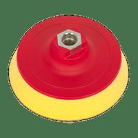 Sealey PTCBPV3S Hook & Loop Ultra Soft Backing Pad ??123mm M14 x 2mm