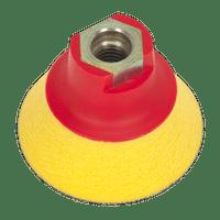 Sealey PTCBPV4S Hook & Loop Ultra Soft Backing Pad ??70mm M14 x 2mm
