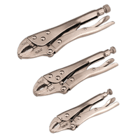 Sealey S0463 Locking Pliers Set 3pc