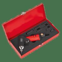 "Sealey SA141   Air Impact Wrench 1/4""Sq Drive Diesel Glow Plug Kit"