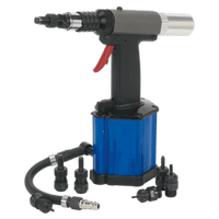 Sealey SA317   Air/Hydraulic Nut Riveter Heavy-Duty Vacuum System