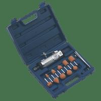 Sealey SA67 Air Die Grinder Kit 13pc