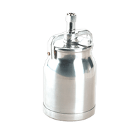 Sealey SC138 Alloy Paint Pot with Cam Action Lid 1ltr