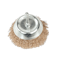 Sealey SCB75 Wire Cup Brush ??75mm with 6mm Shaft