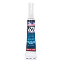 Sealey SCS303 Super Glue Non-Drip Gel 20g Pack of 20